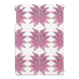 Design elements on white iPad mini case