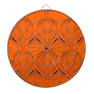 Design elements Orange Dartboard