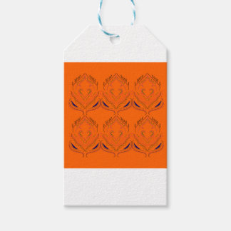 Design elements Orange Gift Tags
