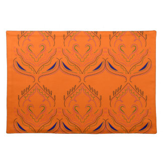 Design elements Orange Placemat