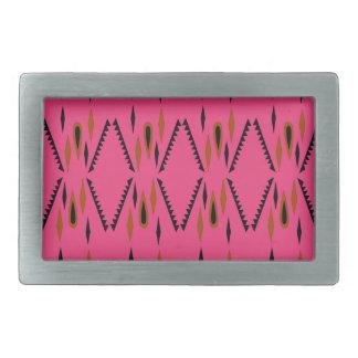 Design elements pink belt buckles