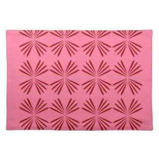 Design elements pink placemat