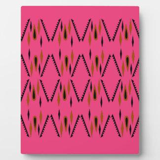 Design elements pink plaque