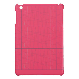 Design elements pink zig zag cover for the iPad mini