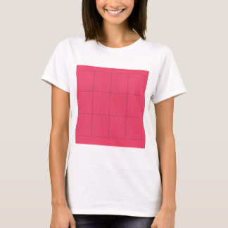 Design elements pink zig zag T-Shirt