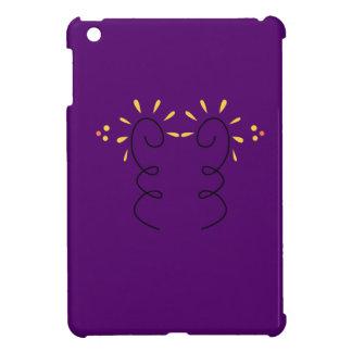 Design elements purple wine case for the iPad mini