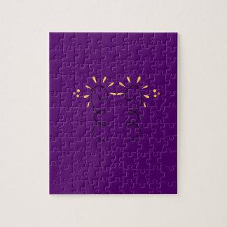 Design elements purple wine jigsaw puzzle