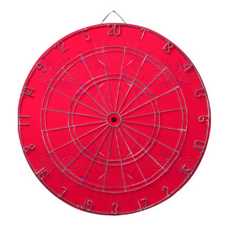 Design elements  red lace dartboard