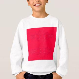 Design elements  red lace sweatshirt