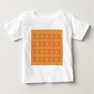 Design elements  red on gold baby T-Shirt