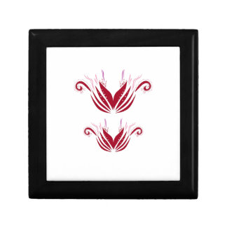 Design elements  Red on white Gift Box