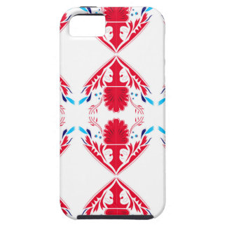 Design elements  Red on white iPhone 5 Cover