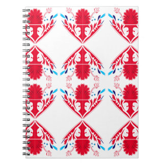 Design elements  Red on white Notebook