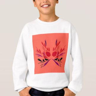Design elements red Orange Sweatshirt