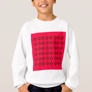 DESIGN ELEMENTS  RED SWEATSHIRT