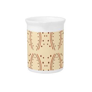Design elements vanilla pitcher