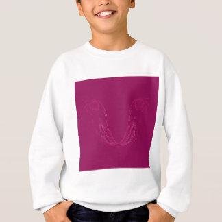 Design elements wine ethno sweatshirt