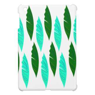 Design elements with Green leaves iPad Mini Case