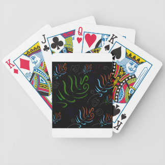 Design ethnic elements bicycle playing cards
