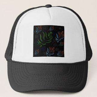 Design ethnic elements trucker hat