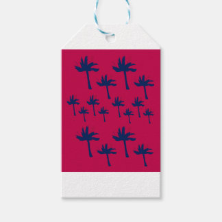 Design ethnic Palms Gift Tags