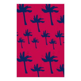 Design ethnic Palms Stationery