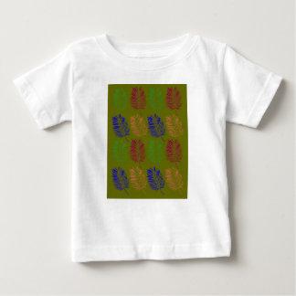 Design ethno bio leaves green baby T-Shirt