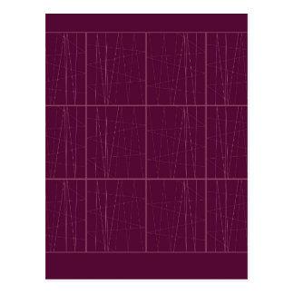 Design ethno chocolate Blocks Postcard