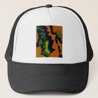 Design ethno elements trucker hat