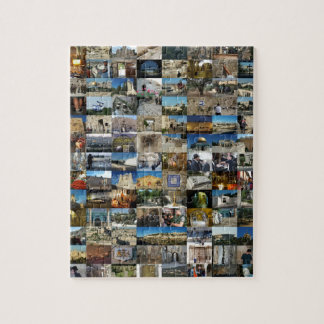 Design Exclusivo 100 Faces de Jerusalém Jigsaw Puzzle