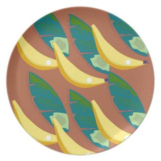 Design exotic Bananas Plate