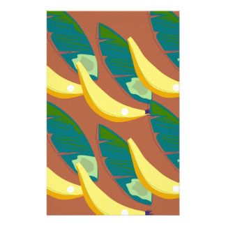 Design exotic Bananas Stationery