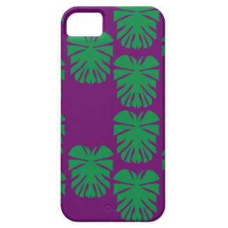 Design exotic leaves eco green iPhone 5 cover