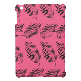 Design exotic Leaves on pink Case For The iPad Mini