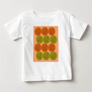 Design exotic lemons on gold baby T-Shirt