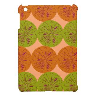 Design exotic lemons on gold cover for the iPad mini