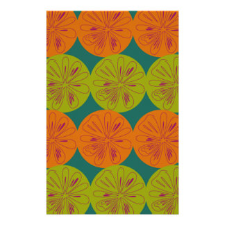 Design exotic lemons stationery