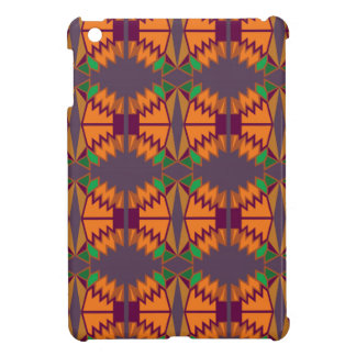 Design exotic mandalas on silver case for the iPad mini