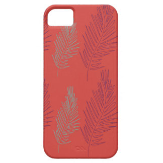 DESIGN EXOTIC PALMS BEIGE CASE FOR THE iPhone 5