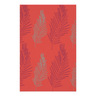 DESIGN EXOTIC PALMS BEIGE STATIONERY