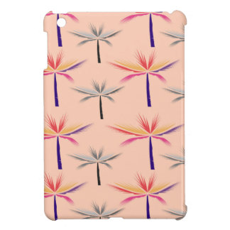 Design exotic Palms on Beige Case For The iPad Mini