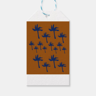Design exotic wild Palms Gift Tags
