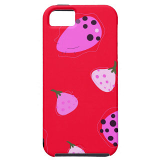 Design  Figs wild  Red Case For The iPhone 5