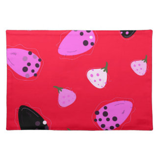 Design  Figs wild  Red Placemat