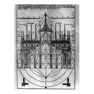 Design for Milan Cathedral Postcard