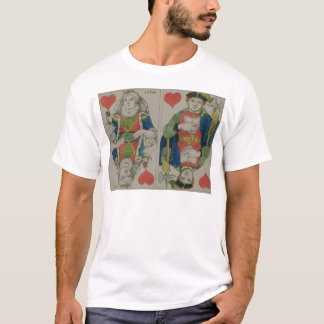 Design for playing cards, c.1810 T-Shirt