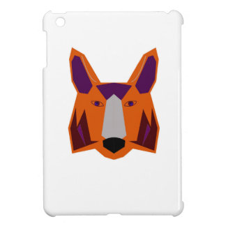 Design  fox on white iPad mini case