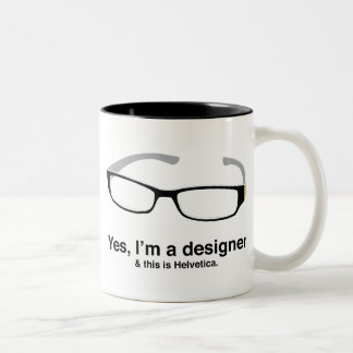 Design Geek Two-Tone Coffee Mug