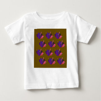 Design gems on blue baby T-Shirt