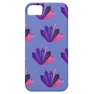 Design gems on blue edition iPhone 5 cover
